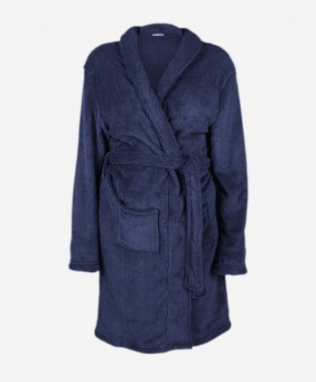 Bathrobe (Navy Blue)