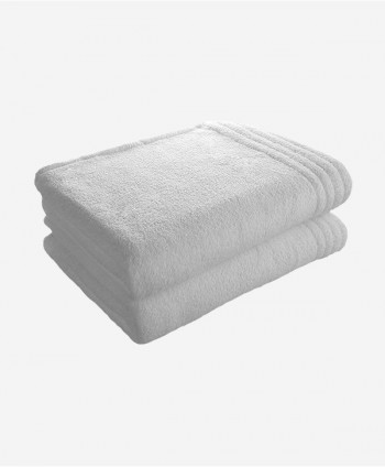 2 bath towels (White)