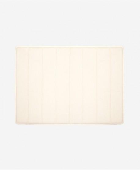 Slim Griptex Foam Bath Mat 17x24 (Ivory)